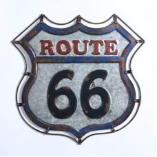 Route 66 Badge Sign