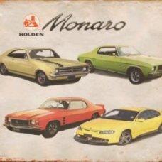 Holden Monaro Tin Sign