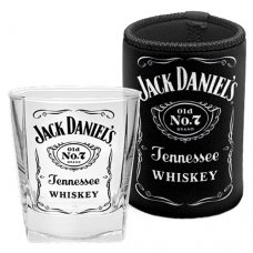 Jack Daniels Spirit Glass and Can Cooler