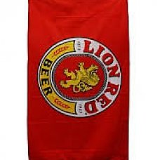 Lion Red Flag