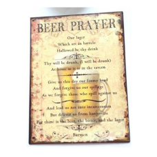 Beer Prayer - Tin Signs