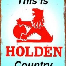 Holden Country - TIN SIGNS