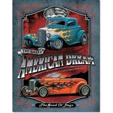 American Dream - Tin Signs
