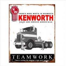 Kenworth Tin Sign