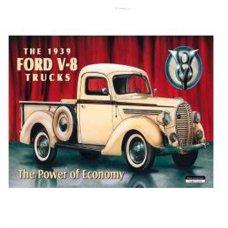 Ford V8 Truck Tin Sign