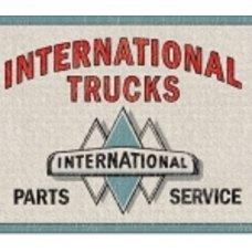 International Trucks Tin Sign