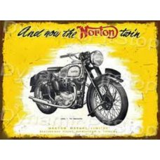 and now the Norton twin