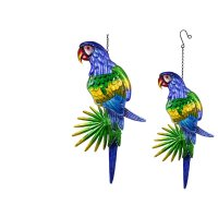 Hanging Glass parrot