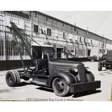 Chevrolet Tow Truck 1937 Tin Sign