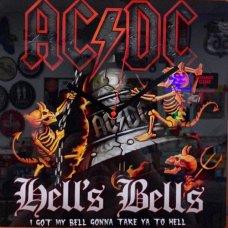 ACDC Hells Bells Clock