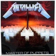 Metallica Master of Puppets Clock