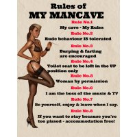 Rules of My Mancave