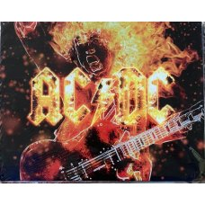 ACDC Fire Tin Sign