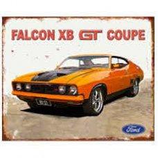 Falcon XB Tin Sign