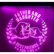 Father & Daughter LED