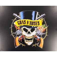 Guns and Roses Metal tin sign