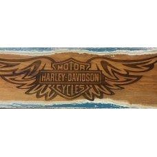 Harley Rimu Plaque