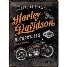 Harley Davidson Timeless Tin Sign