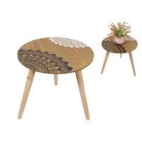 Table with Mandala Print