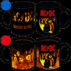 ACDC Heat Changing Mug