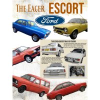 The Eager Escort Tin Sign