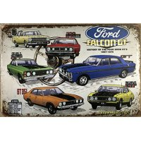 Ford Falcon GT Tin Sign