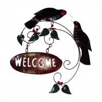 Huia Welcome Sign