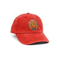 Lion Red Retro Cap