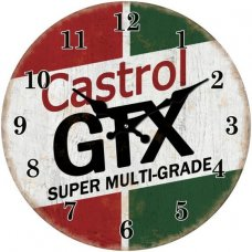 Clock Castrol