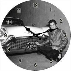 Elvis Cadillac 1957 Clock