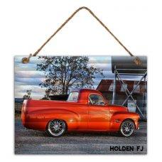 Holden FJ 500 tin sign