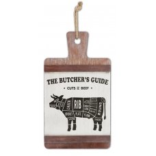 Butchers Guide Large Sign