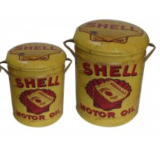 Shell Storage Stools