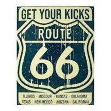Get your kicks route66 tin sign