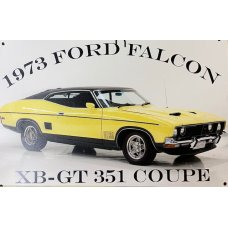 73 Ford Falcon TIn Sign