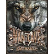 Mancave Entrance Wolf