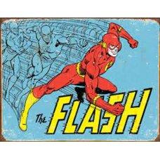 The Flash tin sign