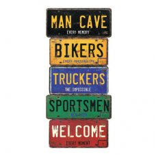 Mancave Welcome Large Sign